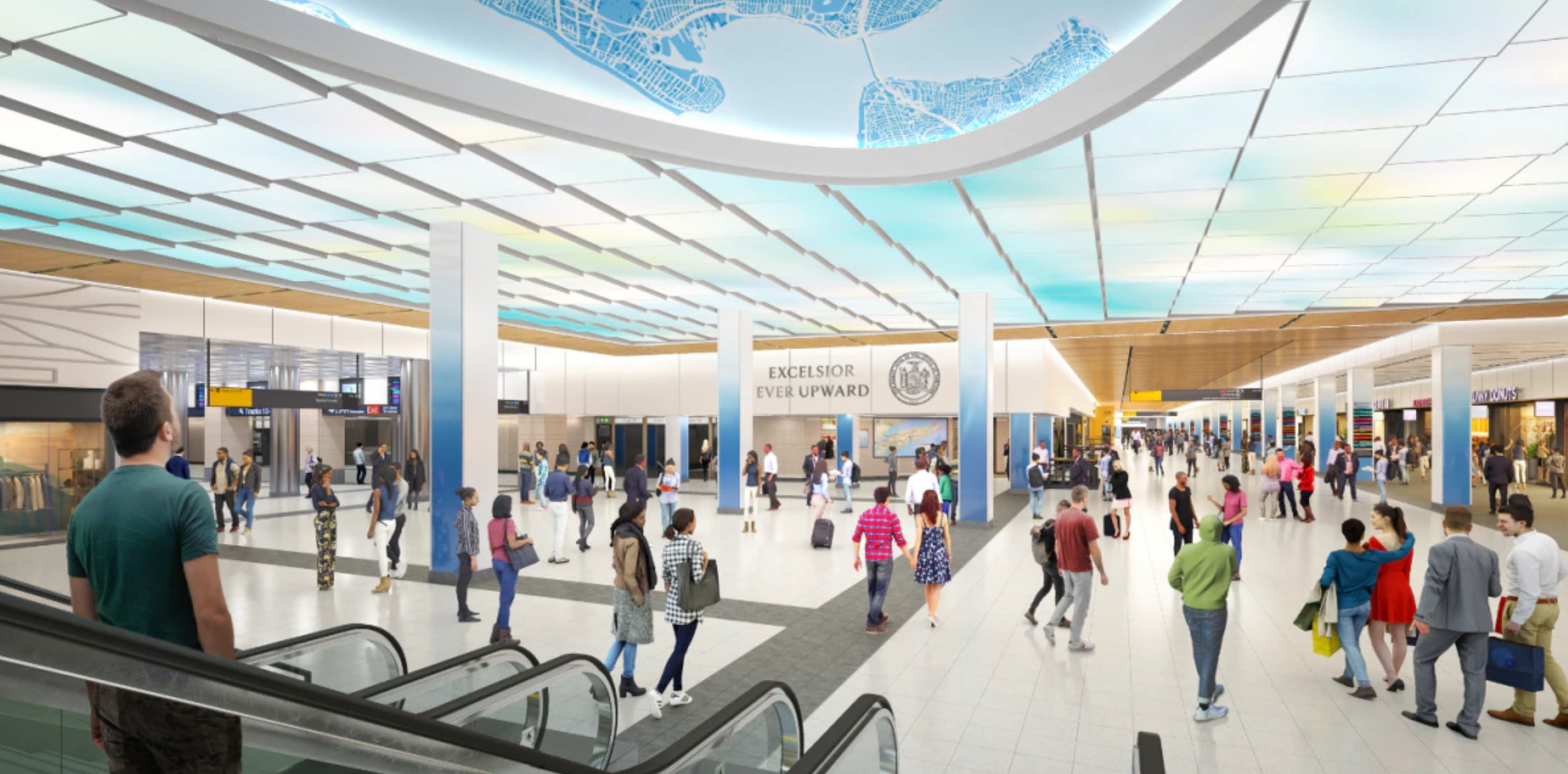 LIRR 33rd Street Concourse – opening early 2023
